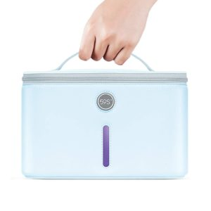 UV Sanitization Cleanse Tote Phone Exterior